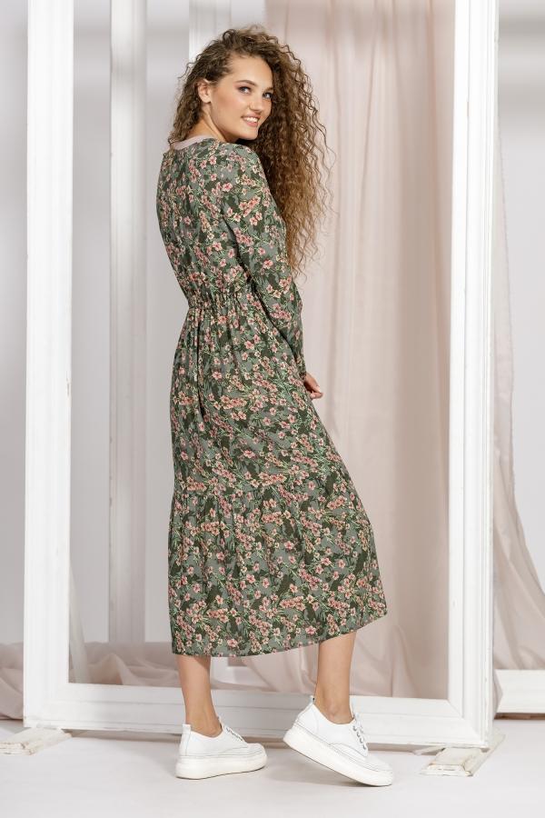 1631 Платье (42-52)
